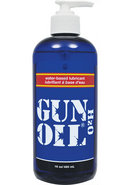 Gun Oil H2o Water Based Lubricant 16oz